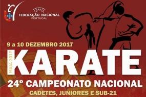 Karate: Nacional de Cadetes, Juniores e Sub 21