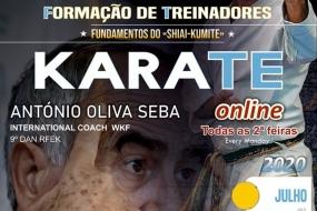 Karate: formação online com António Oliva