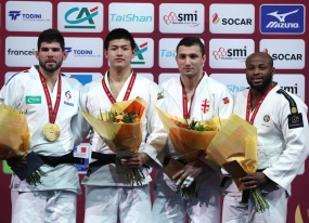 Judo: bronze no Grand Slam de Paris