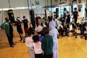 Kickboxing: SCP com treino solidário