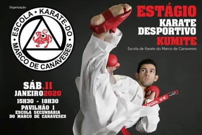 Karate: Estágio de Karate Desportivo