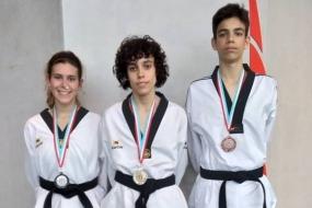 Taekwondo: pódios no Open do Luxemburgo