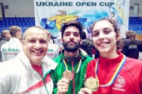 Taekwondo: ouro e bronze lusos no Open da Ucrânia