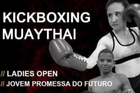 Kickboxing: Ladies Open e Jovem Promessa do Futuro