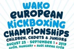 Kickboxing: europeu de cadetes e juniores