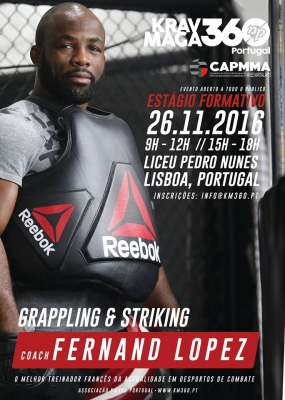 "Krav Maga e MMA: ""Grapling e Striking"""