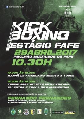 Kickboxing: Estágio SCP em Fafe