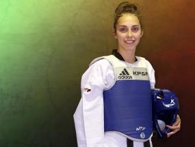 Universíadas: taekwondo porta estandarte