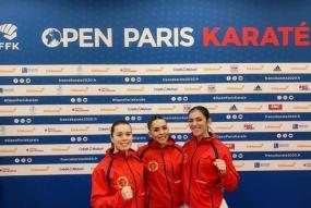 Karate: kata equipa lutou pelo bronze